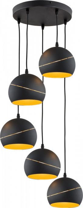 Yoda Orbit Black lampa wisząca 2083 TK Lighting