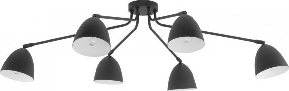 Loretta lampa sufitowa z ruchomymi kloszami  2374 white, 2379 gray, 2486 black TK Lighting